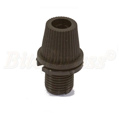 M10 x 1mm Pitch Male Nylon Taper Cord-grip Cable Glands PKT 5